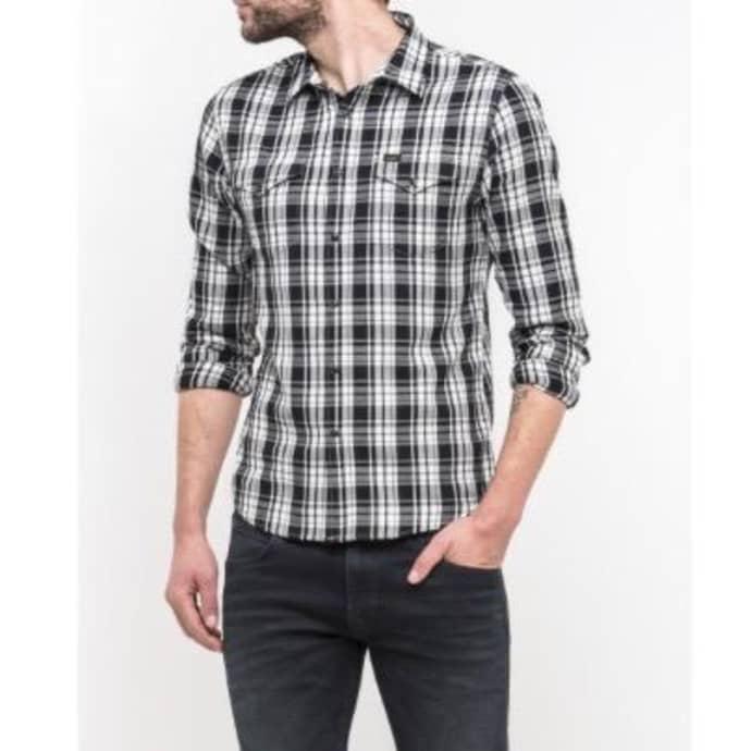 4b62d31e Trouva: Black Lee Western Shirt
