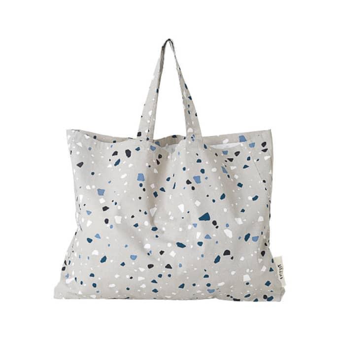 4f1634592 Trouva: Large Grey Terrazzo Tote Bag