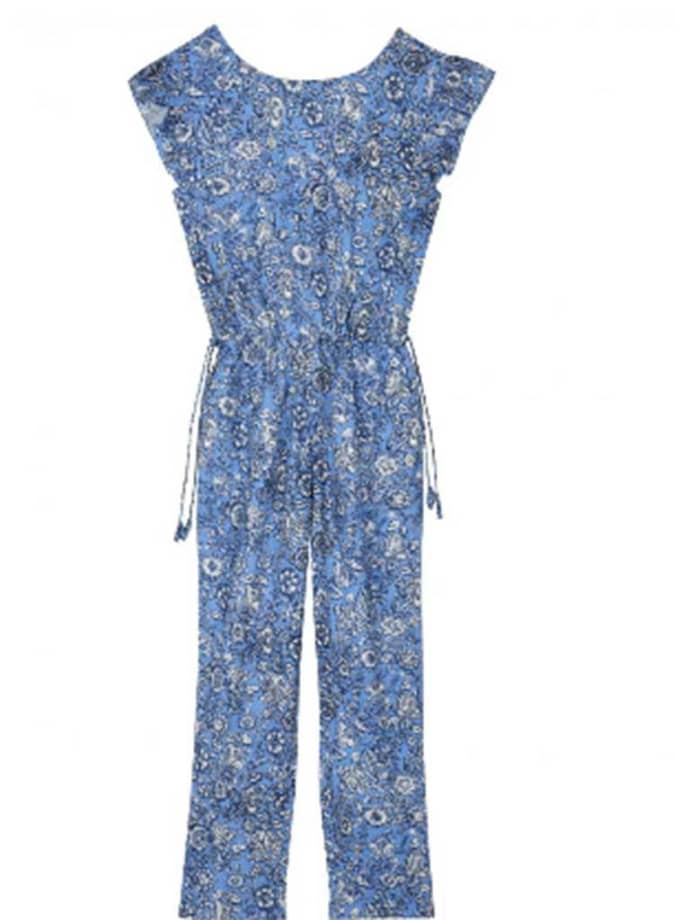 reputable site 816a7 e2e8d Leon & Harper Blue Olivia Indian Jumpsuit