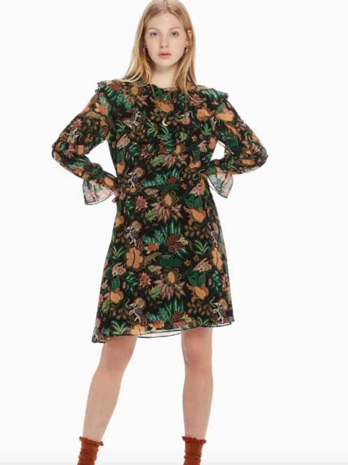 Großhandelspreis Shop für authentische Entdecken Maison Scotch Jungle Print Dress