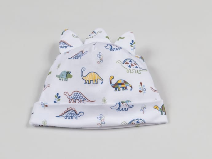 ed98b9c39 Kissy Kissy White Baby Boys Pima Cotton Hat