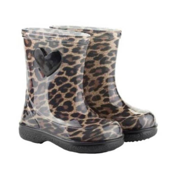 UK Verfügbarkeit erster Blick Kaufen Igor Size 22 Leo Print Wellies Boots