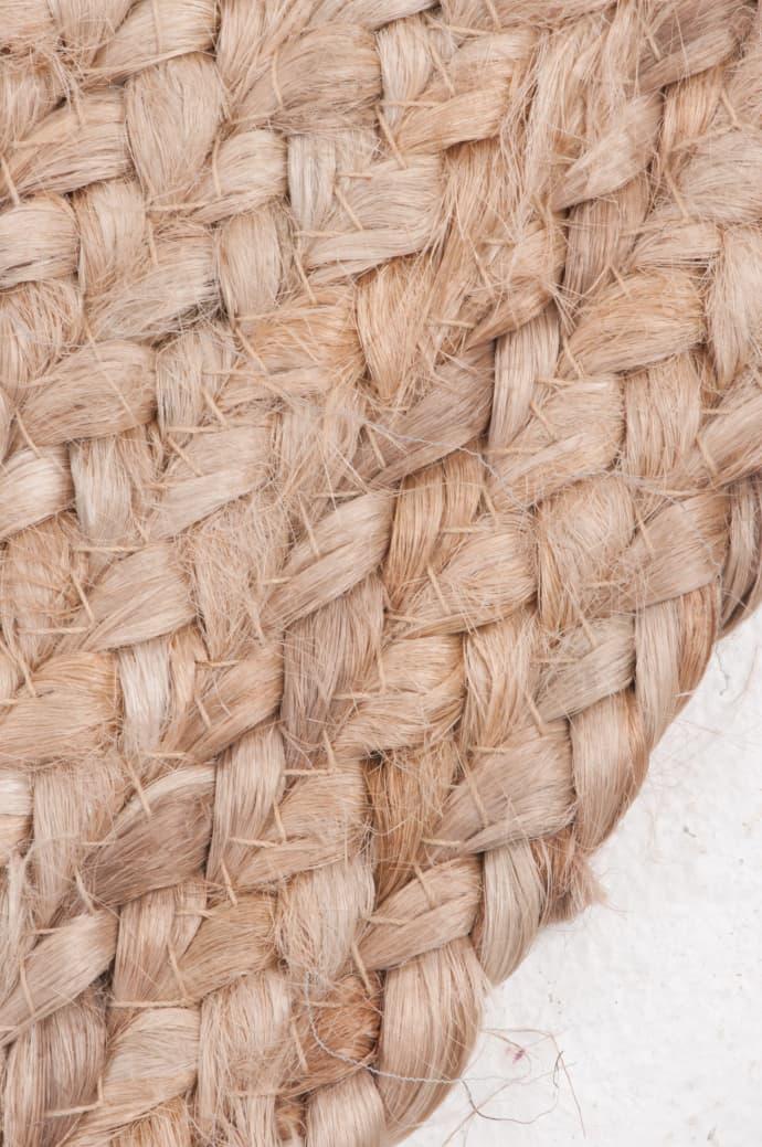 Trouva: Hand Braided Jute Rug