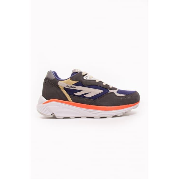 4ed2e813af9 Hi-Tec Grey Navy Lemon & Salmon HTS Silver Shadow RGS Sneakers