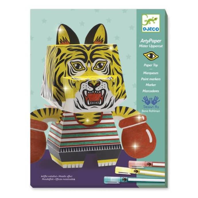 Djeco Mister Uppercut Arty Paper Craft Box