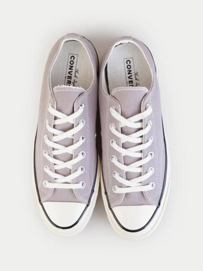 Converse Mercury Grey All Star Chuck 70 Ox Shoes