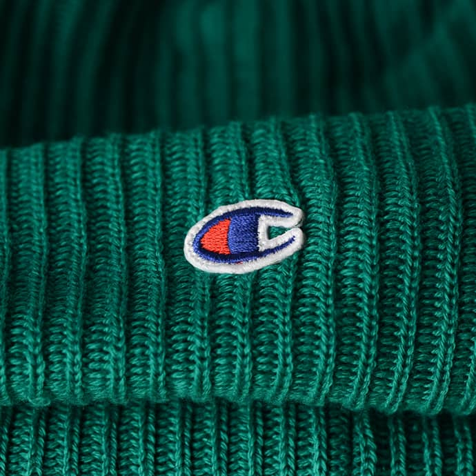 36aab5fc0 Champion Green Reverse Weave Beanie