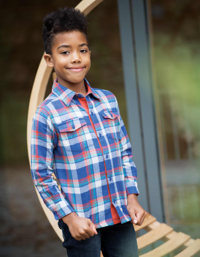 2e09c051491f Trouva: Cosy Check 4 To 5 Years Hector Checked Shirt