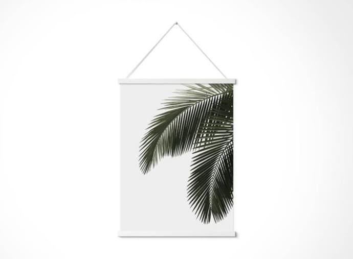 Trouva Magnetic Print Frames Small Black White And Ply