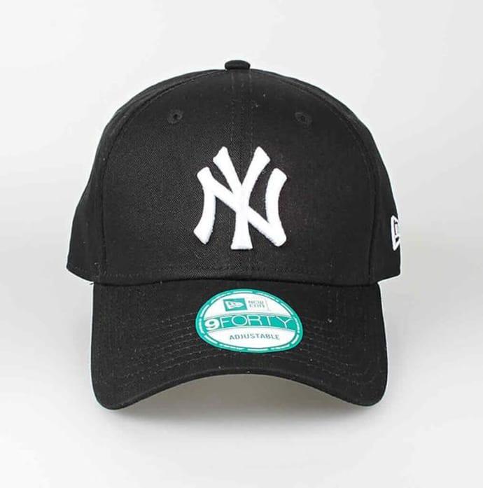 d16d3c8aa New Era Black 9 Forty NY Cap