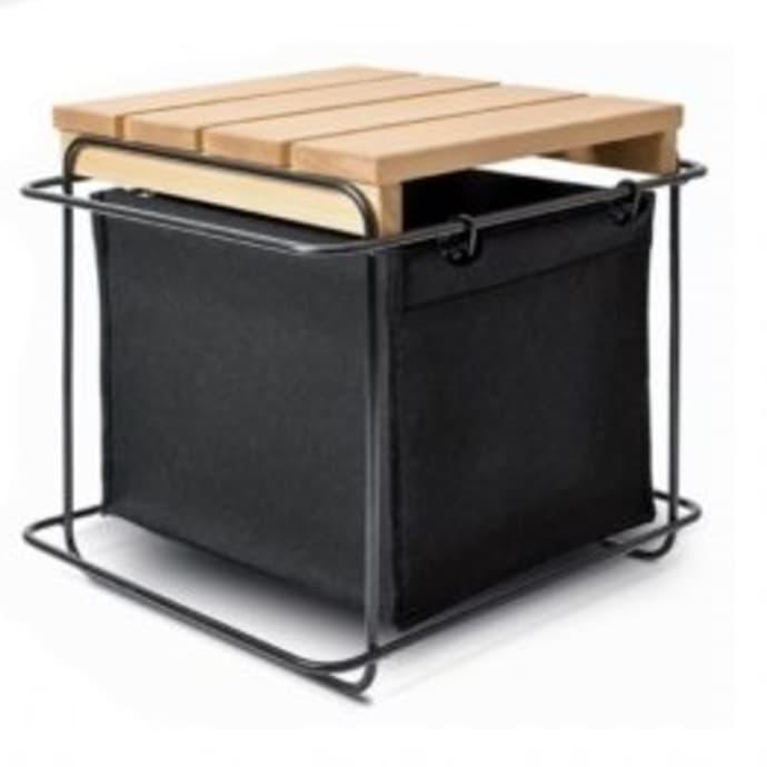 Incredible Bartmann Berlin Black Grit Stool Inzonedesignstudio Interior Chair Design Inzonedesignstudiocom