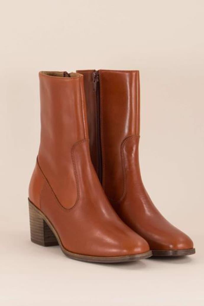 sur les images de pieds de profiter de prix pas cher réel classé Sessun Ludd Leather Boots