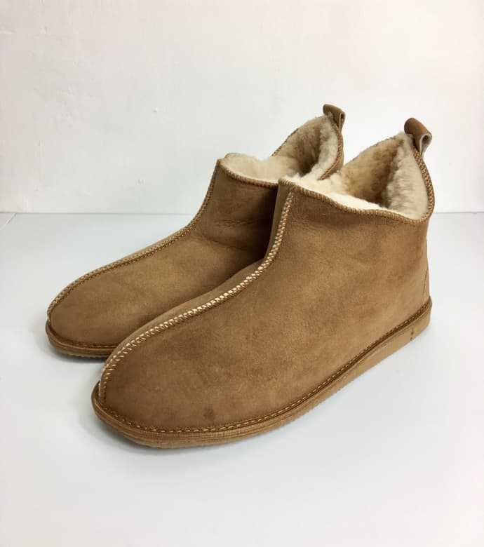 01a2de33974 Mens Sheepskin Boot Slippers