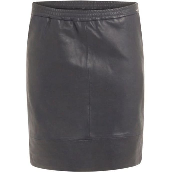 a7c860338e Trouva: Leather Skirt