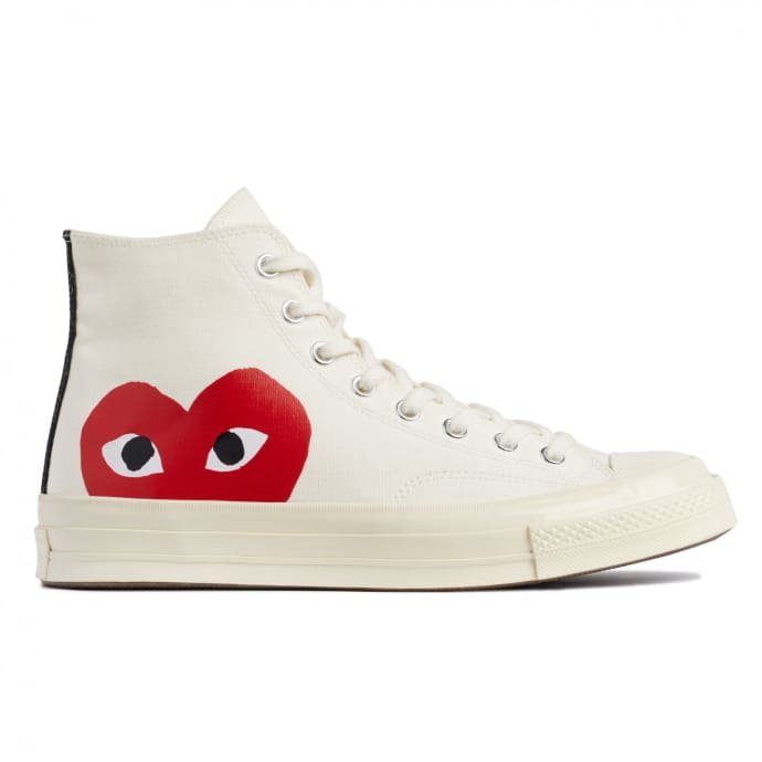 converse cuore rosso scarpe