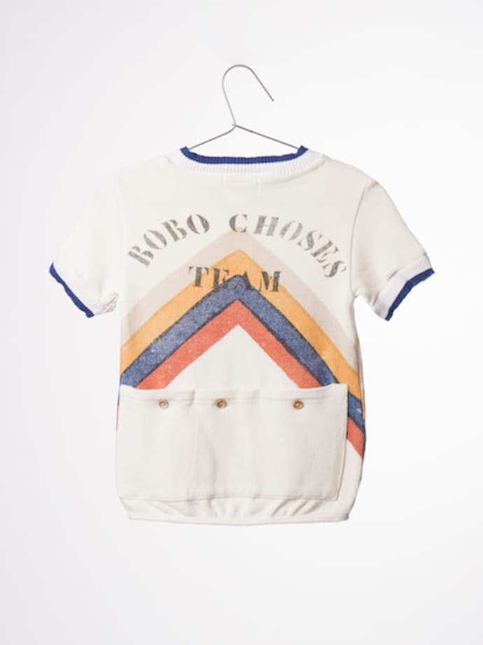 new product 4a036 99096 Bobo Choses Gino Track T-Shirt