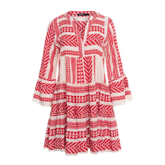 USA billig verkaufen zuverlässige Leistung bester Ort für DEVOTION Red Devotion Zakar Embroidery Dress