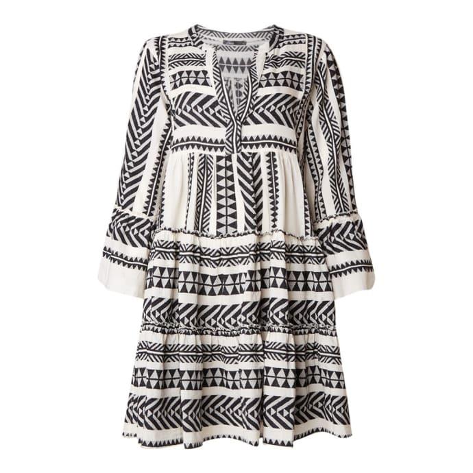 bestbewertet Markenqualität beste Angebote für DEVOTION Black Devotion Zakar Embroidery Dress