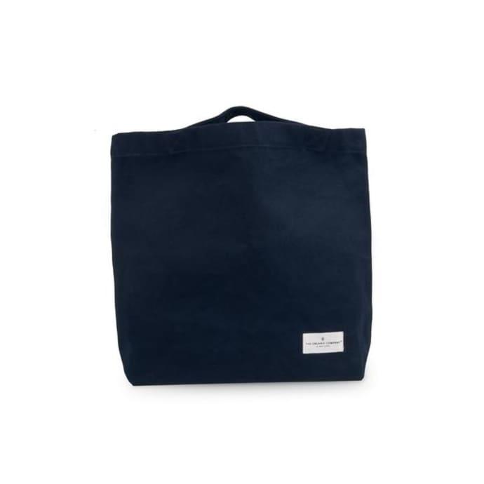 74b718e27 Trouva: Dark Blue Organic Cotton Tote Bag