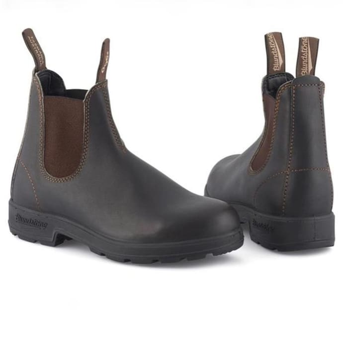 5009a061d27 Blundstone Stout Brown 500 Original Leather Boot