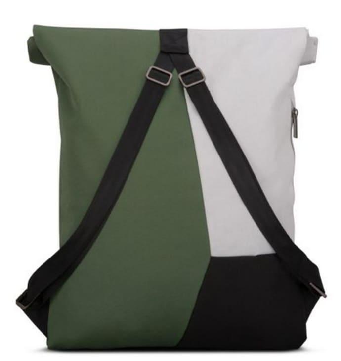 58de42852ae6 Trouva: oskar multi grey - green | eco friendly backpack