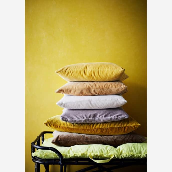Madam Stoltz Velvet Cushion Cover