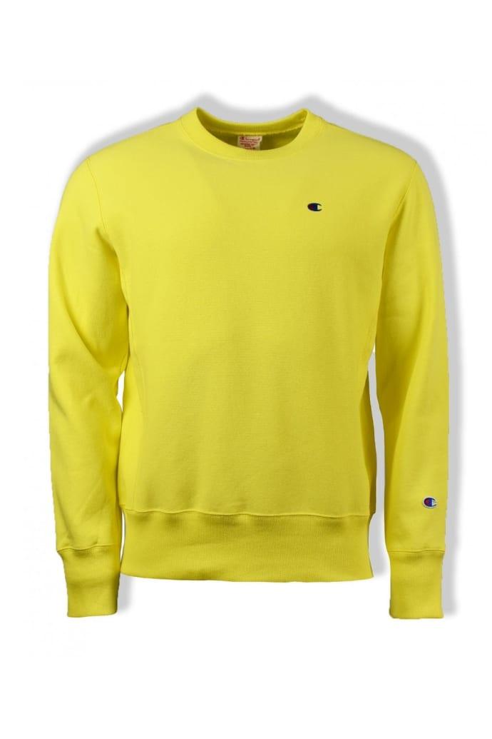 20f6e0cb4e5 Champion Yellow Reverse Weave Sweatshirt