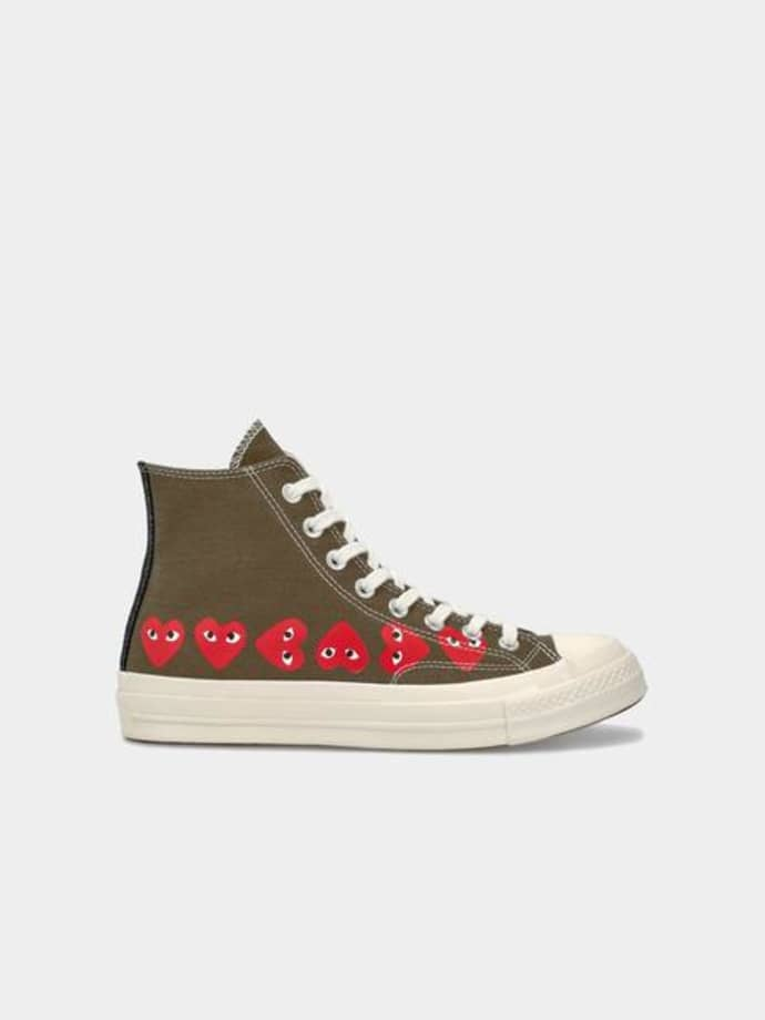 converse all star corazon