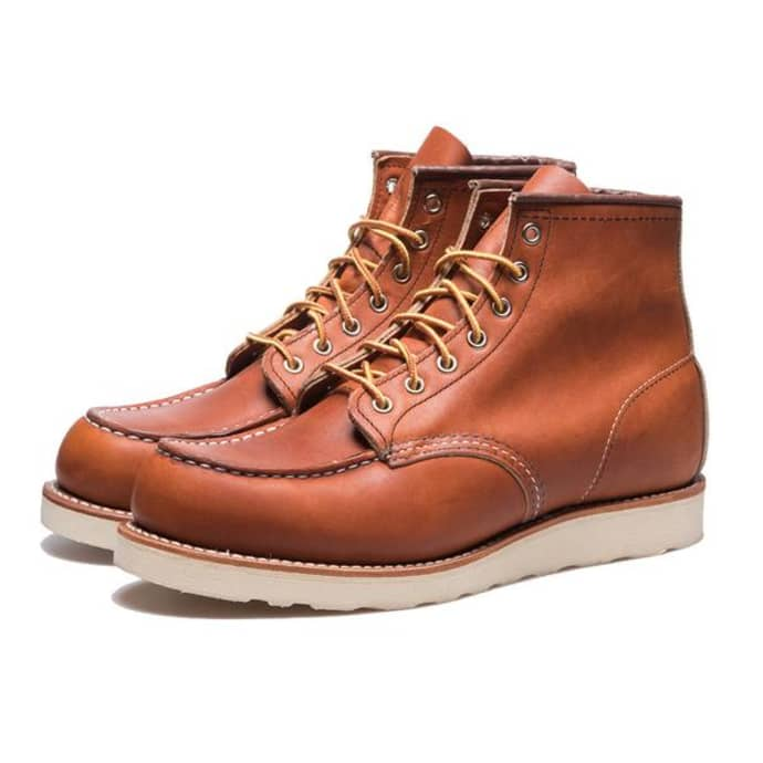 Red Wing Heritage Moc Toe 875 Oro Legacy Boots