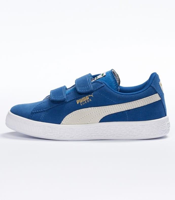 Trouva: Puma Blue Suede Big Kids Shoes