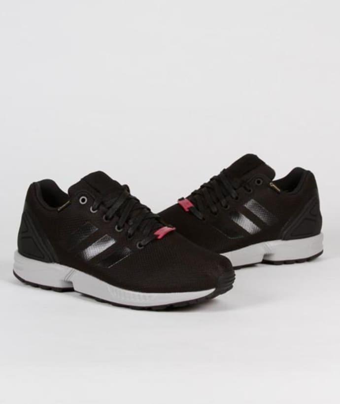 size 40 4d7ed bd1f0 Adidas Core Black Nylon and Gore Tex Originals ZX Flux GTX Shoes