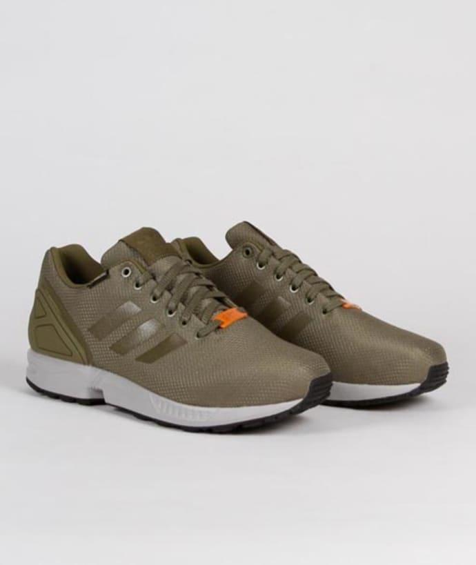 adidas ZX Flux GTX Schuhe 4,0 cargoorangegrey:
