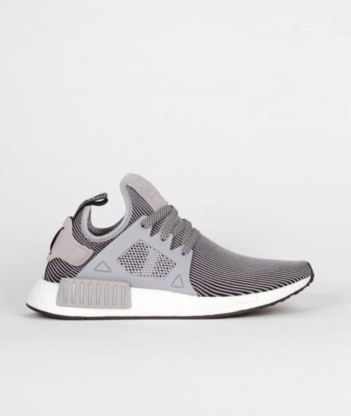 designer fashion 21c9a 8efe8 Adidas Grey Black Nylon Originals NMD XR1 PK Shoes