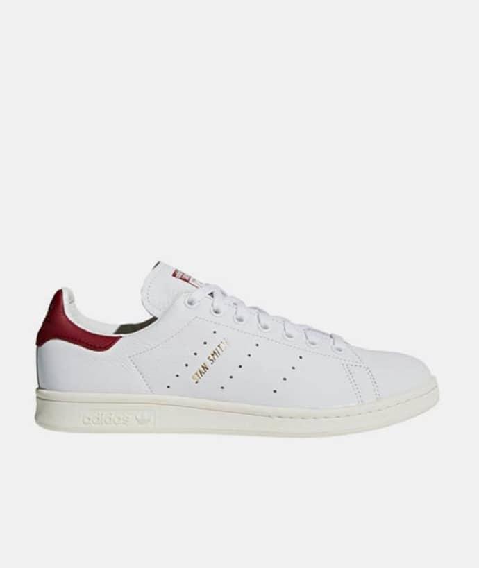 timeless design c2e6e 78d27 Adidas 11.5 US - 46 EU Size Cloud White Leather Stan Smith Mens Originals  Shoes