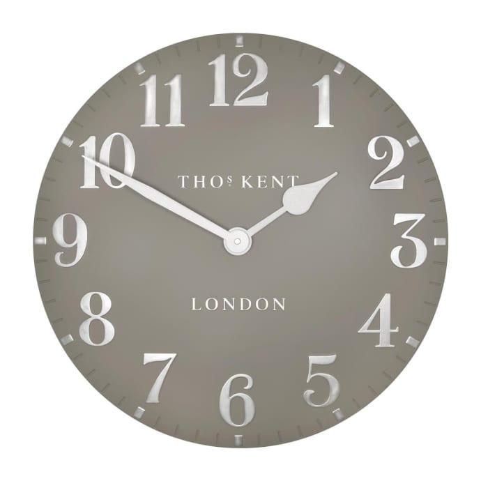 Thomas Kent 50cm Cool Mink Arabic Wall Clock