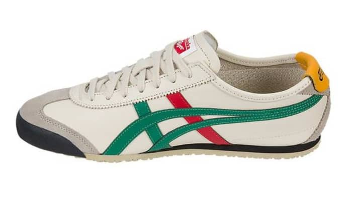 wholesale dealer db908 e64a9 Onitsuka Tiger Mexico 66 Womens Birch Green