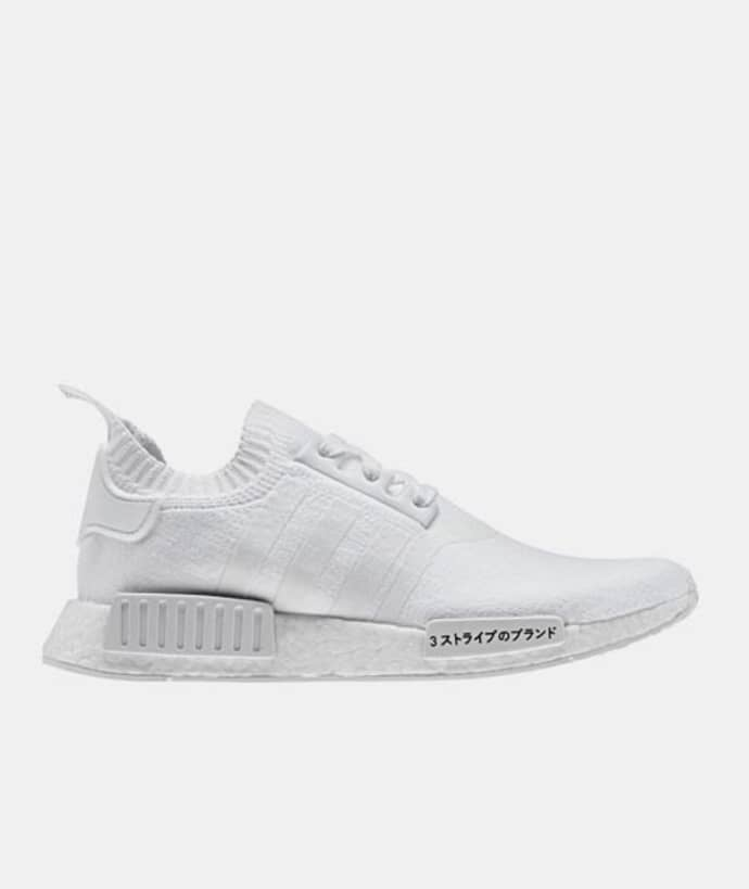 uk availability 65f00 155c8 Adidas originals Cloud White White Nmd R1 Pk Shoes
