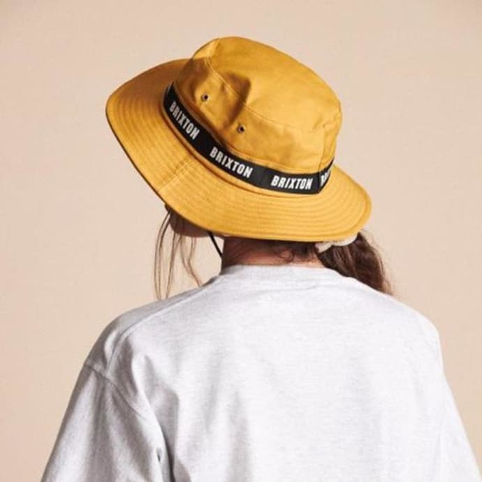 BRIXTON Unisex B-Shield Bucket Hat Hat