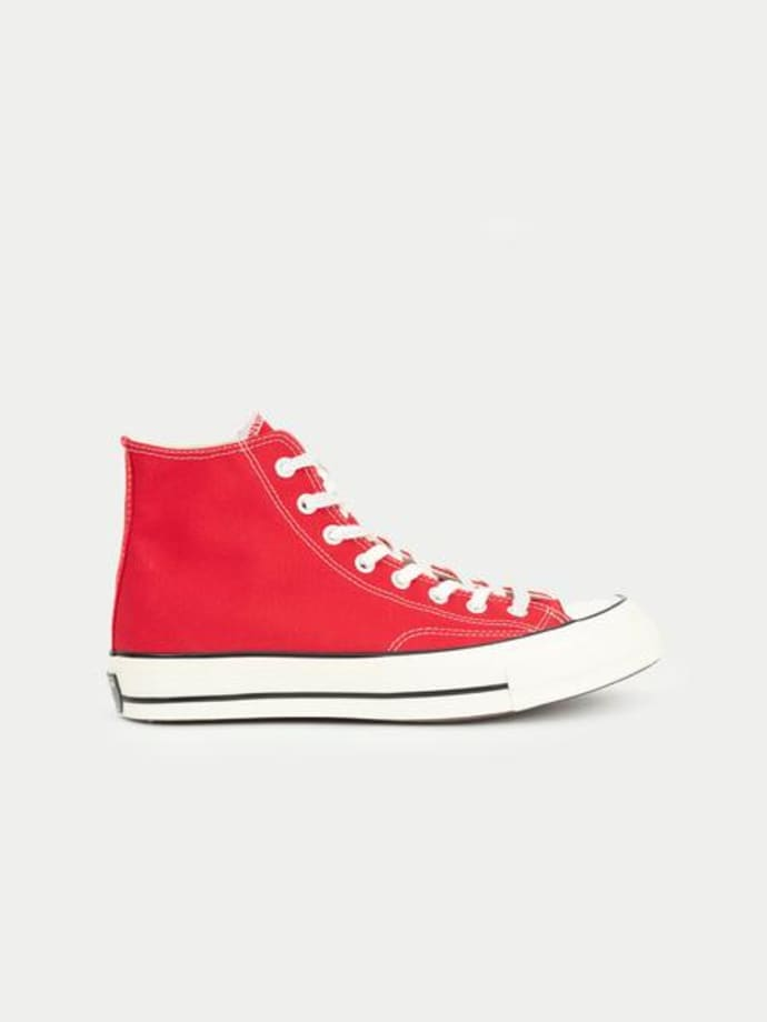 all star converse altas rojas