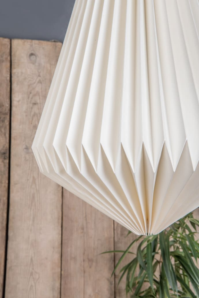 Star Lampshade Star Light shade Handmade Cotton Paper Fair trade Homeware