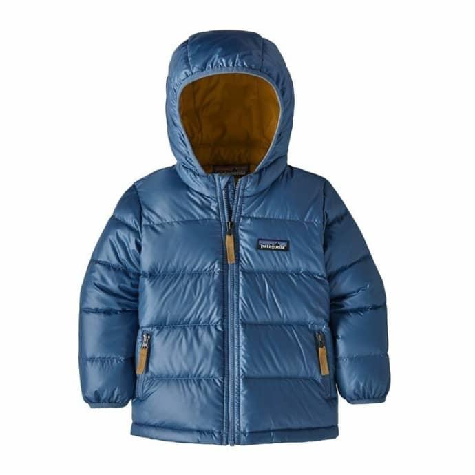 Trouva Woolly Blue Polyester Kids Hi Loft Down Sweater Hoody