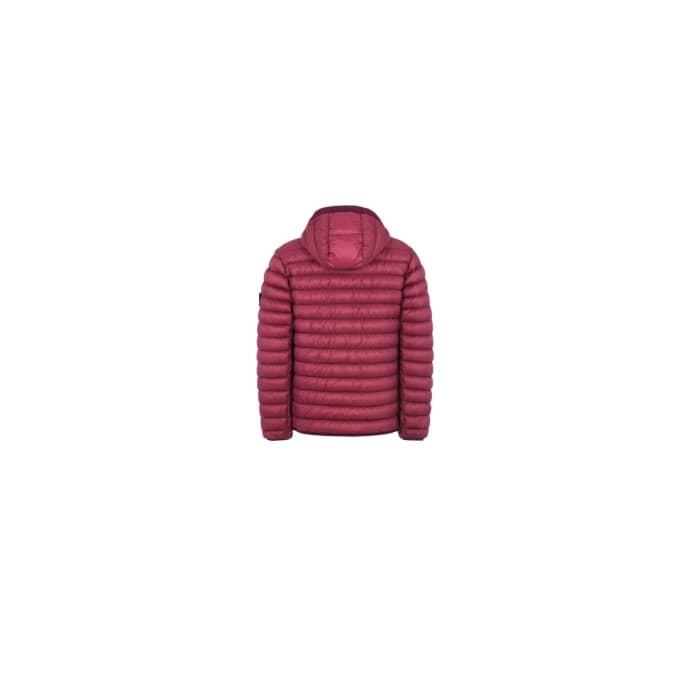 Island Down Polyamide Micro Burgundy Dyed Stone Yarn Garment Jacket 4A5jR3Lq