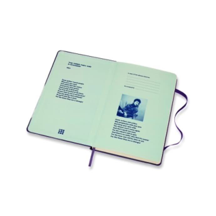 Moleskine  Bob Dylan Limited Edition Notebook -  Violet