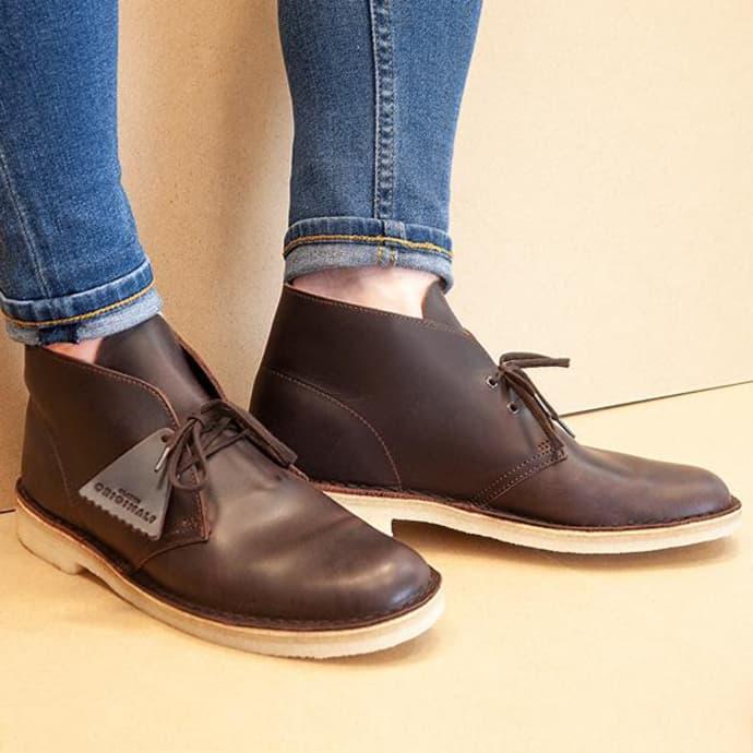 Hermana favorito Platillo  Trouva: Desert Boot Chestnut Leather