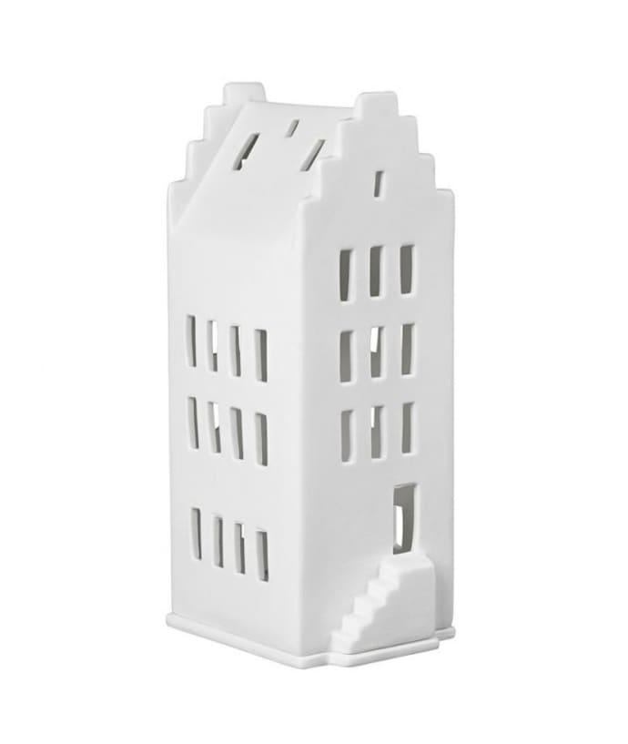 Trouva 13 X 13 X 20cm White Tealight Holder