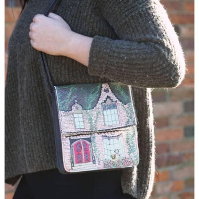 Trouva Home Victorian House Shaped Dalmatian Mini Bag