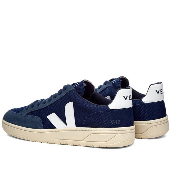 manejo Viajero Señor  Trouva: Veja V-12 Mesh Sneaker Navy & White