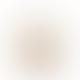 Van Verre 13 x 19cm Clear Brown Fleur De Lys Glass Pitcher