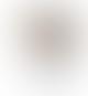 Kreafunk Gold and white Bluetooth speakerphone with light 27.2xa8x17.8cm