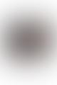 Light & Living Velours Hydrangea Cylndrical Lamp Shade in Black